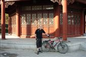 The bike and I outside a temple.: by luke_collings, Views[120]
