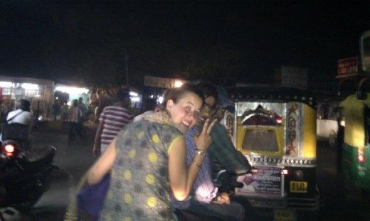 Sardar Market at night