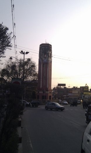 The Clock Tower at dusk