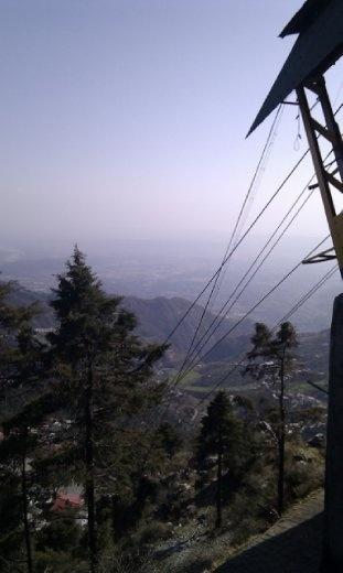 The top of Gun Hill