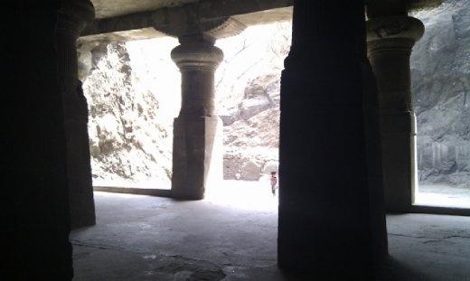 Inside Cave No 1