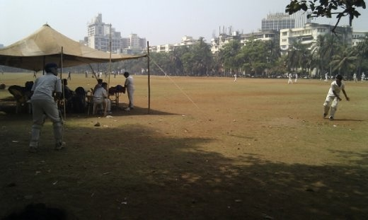 Practice at Oval Maidan