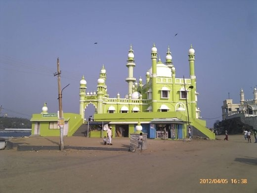 One of three mosques near the harbour