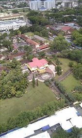 Istana Kuning from Menara Alor Setar tower, birthplace of the first prime minister of Malaysia: by macedonboy, Views[309]