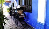 Rickshaws at Cheong Fatt Tze Mansion: by macedonboy, Views[247]