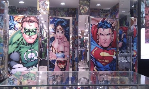 DC superheroes shop