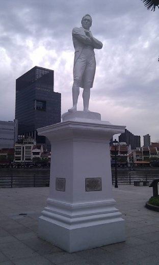 Statue of Sir Stamford Raffles