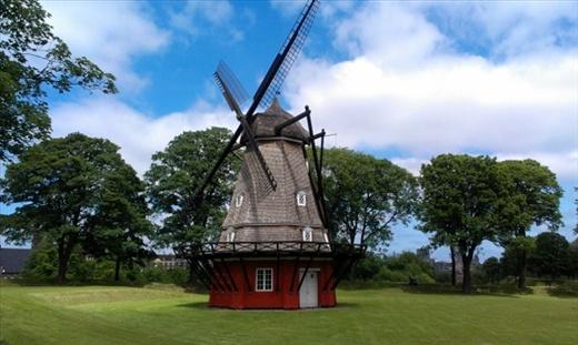 Windmill  at Copenhagen Citadel