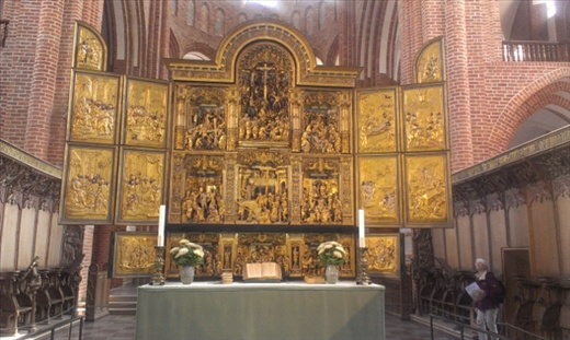 Scene from Roskilde Cathedral
