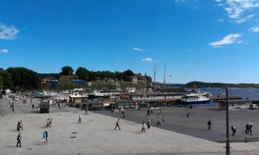 Akershus from afar