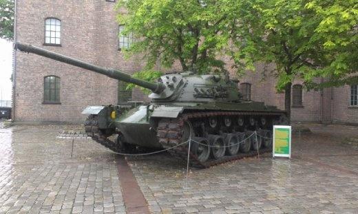 Tank at Norwegian Military Museum