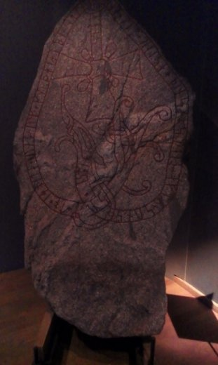 Runestone at National Museum
