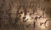 Carved scens in underground chapel: by macedonboy, Views[201]