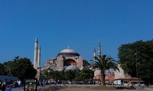 Hagia Sofia afternoon
