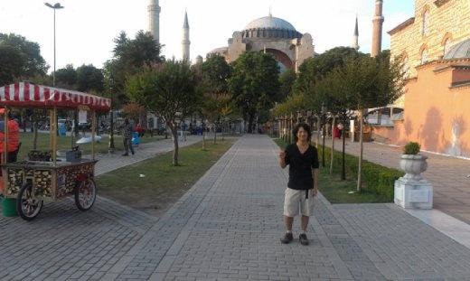 Hagia Sofia evening