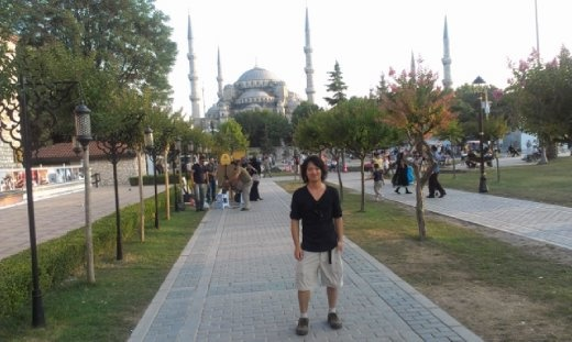 Blue Mosque and me
