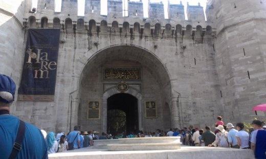 Rantrance to Topkapi Palace