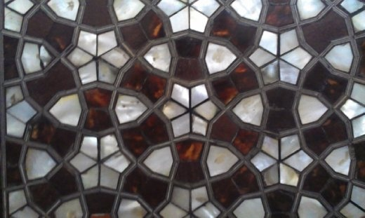 Topkapi Palace stained glass