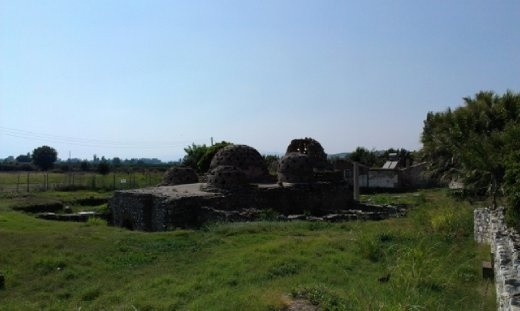 Remains of old Turkish baths