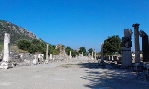 Ephesus harbour area