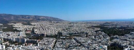 Panoramic view from Lycabettus