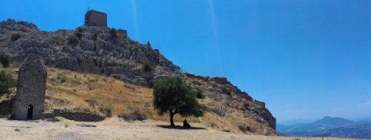 Scene atop Acrocorinth