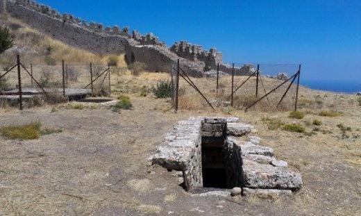 Entrance to Turkish cistern