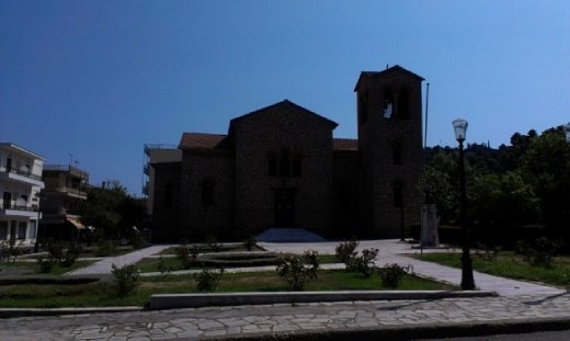 Greek Orthodox church near hotel
