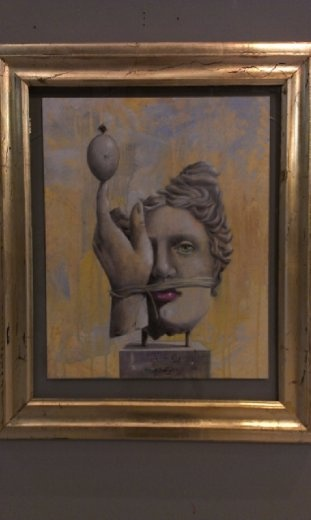 Art exhibition at St. Mark's Basilica