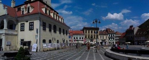 Brasov market square