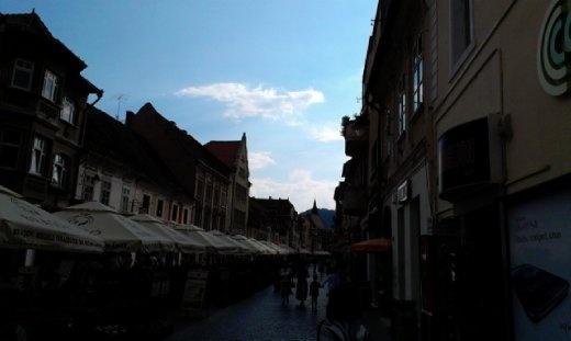 Republicii Street of Brasov