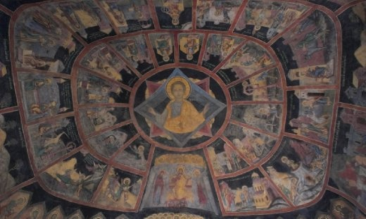 Church of Virgin Mary ceiling