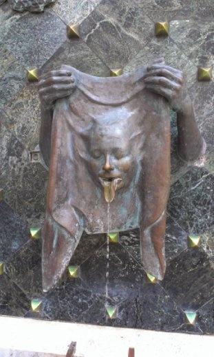 Fountain at Kiraly Uta