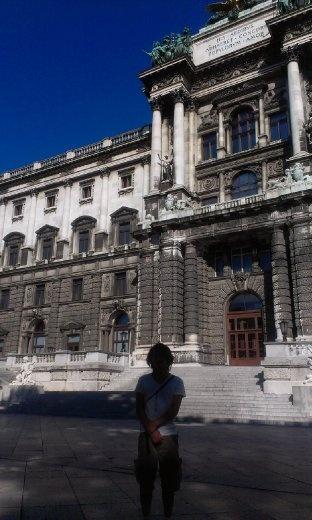 Dude at Hofburg