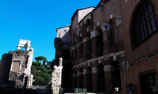 Ruins of Teatro Marcello