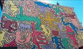 Mural by Keith Haring: by macedonboy, Views[262]