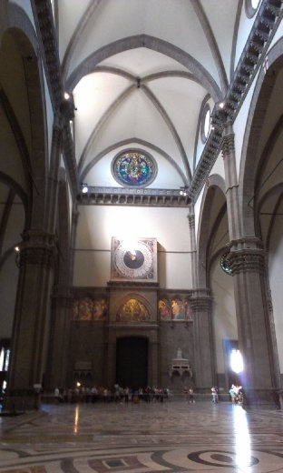 Inside Cathedral of Florence