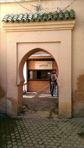 Entrance to Saadien Tombs: by macedonboy, Views[172]