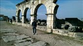 Me standing in front of an aquaduct: by macedonboy, Views[129]