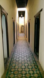 A first floor corridor in Merdersa Bou Inania: by macedonboy, Views[40]