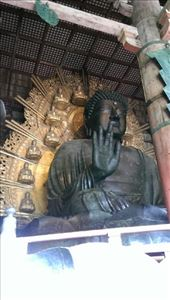 Todaiji Temple - Great Buddha Vairocana: by macedonboy, Views[162]