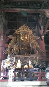 Todaiji Temple - Some Buddha, can't remember which.: by macedonboy, Views[113]