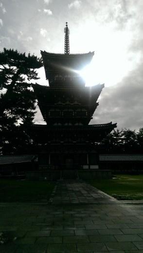 Yakushiji Temple - The East Pagodo