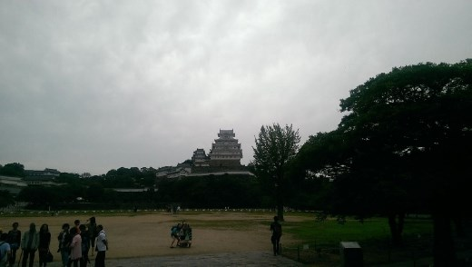 Himeji Castle, closer still.