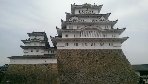 View of castle from Bizen Maru or the Bizen Bailey.