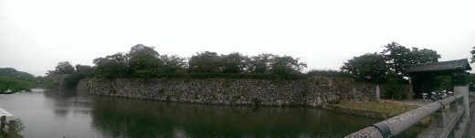 Panoramic view of the castle.