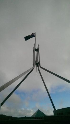 Australian Parliament - Rooftop