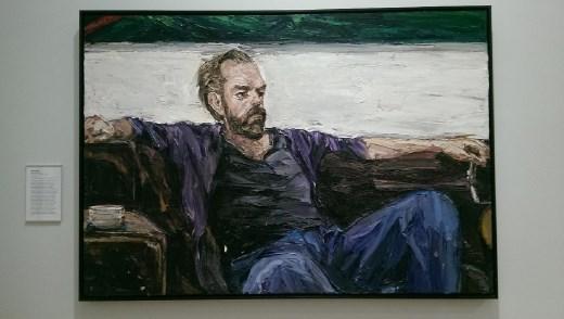 Portrait of Hugo Weaving