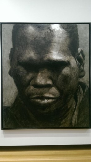 Portrait of Geoffrey Gurrumul Yunupingu