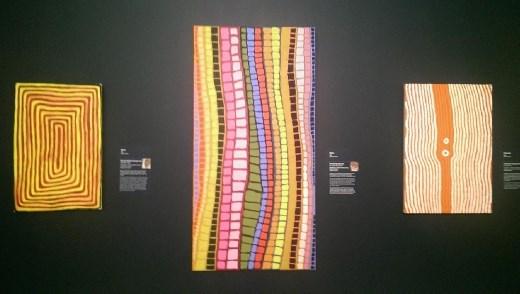 Artwork at the National Museum of Australia